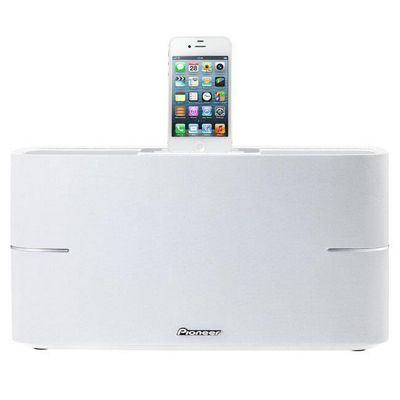 PIONEER HOME AUDIO SYSTEM IPOD DOCK VIDEO OUT 30W SPEAKERS WHITE #XW-BTS3-W
