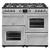 Belling 444444134 Farmhouse 100DFT Range Cooker -Silver