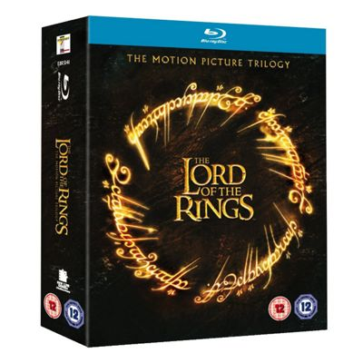 The Lord Of The Rings Trilogy  (Blu-Ray Boxset)