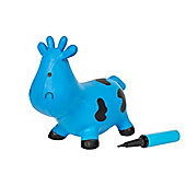 Jumping Cow Blue