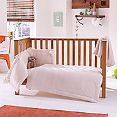 Clair de Lune 3pc Cot Bed Bedding Set (Honeycomb Cream)