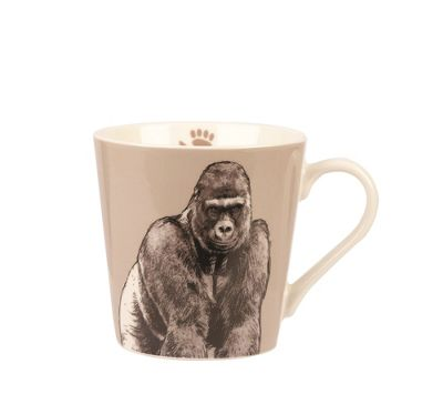 Churchill China Queens Couture GORILLA Bumble Mug Cup 325ml