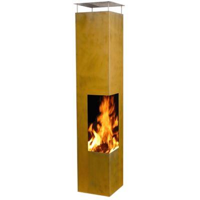 Gardenmaxx Tacora 150cm Fireplace - Corten