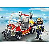 Playmobil City Action Fire Quad