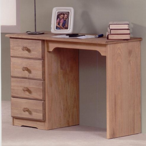 Amani Dressing Table in Waxed pine