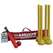 Aresson Bat, Ball And Stumps Mini Rounders Set