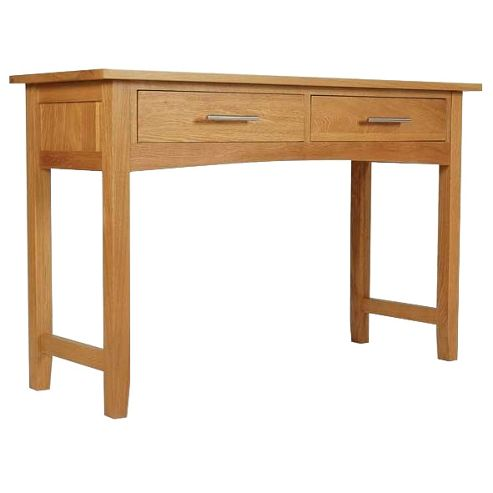Hereford Oak Console Dressing Table
