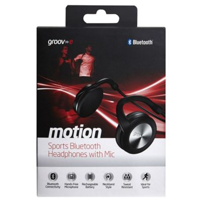 Groov-e GVBT300BK Motion Bluetooth Sports Headphone - Black
