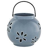 Tesco Ceramic tealight lantern flower cut out