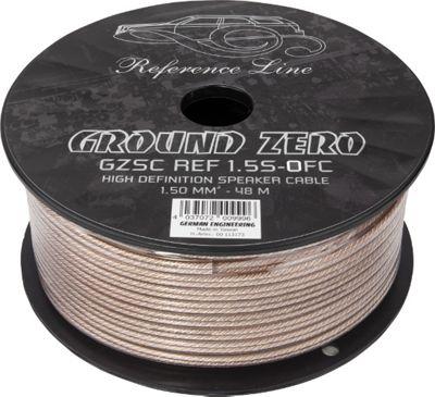 Ground Zero 1.5S OFC Speaker Cable 48M Spool