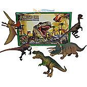 5Pc Plastic Dinosaur T Rex Animals Play Toy Action Figures Box Children Game Set
