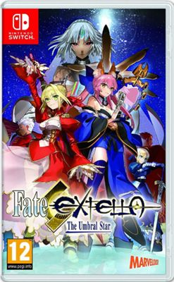 Fate Extella The Umbral Star Nintendo Switch Game