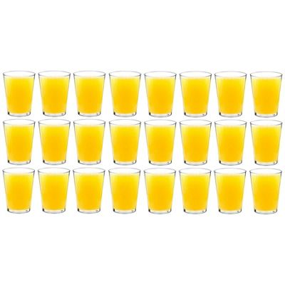 Rink Drink Plastic Tumblers / Hiballs Outdoor Glasses - Pack Of 24