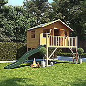 BillyOh Lollipop Max Tower Children's Wooden Playhouse with Slide, 6ft x 7ft