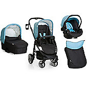 Hauck Lacrosse All In One + Buggy Lights Travel System - Aqua