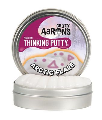 Crazy Aaron's Arctic Flare UV Reactive Phantom Thinking Putty
