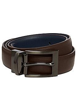 F&F Reversible Belt - Brown & Navy
