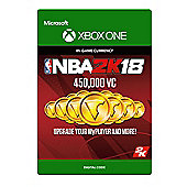 NBA 2K18: 450,000 VC DIGITAL CARDS (Digital Download Code)