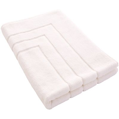 Egyptian Luxury Bath Mat 60X90 - Snow