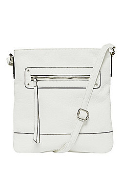 F&F Grained Cross-Body Bag