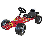 T. Turbo Champion Go Kart Red