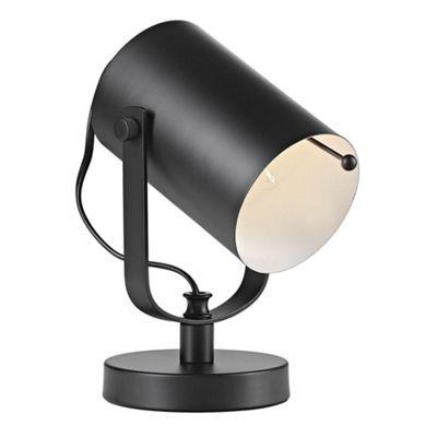 Matt Black Adjustable Projector Floor or Table Lamp