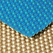 GeoBubble Midas 500 Micron Pool Solar Cover- 16ft x 32ft Rectangular