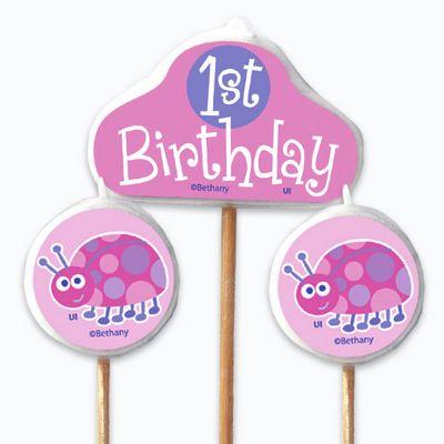 1st Birthday Candles