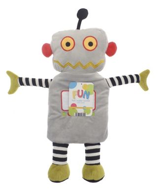 Thermotherapy Children's Novelty Hot Water Bottle, Robot