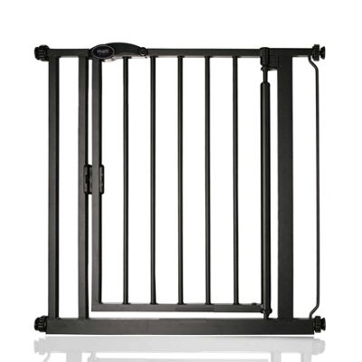 Safetots Auto Close Standard Gate Matt Black 75-82cm