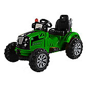 Electric Ride On Tractor 12v Green