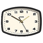 Jones The Sketch Rectangular Wall Clock