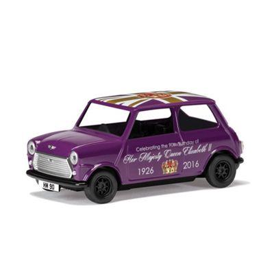 CORGI CC82107 The 90th Birthday of HM QE II - Commemorative Souvenir Austin Mini