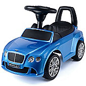 Bentley Continental Ride-On Car Toy - Metallic Blue