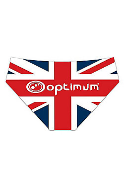 Optimum Union Jack Tackle Trunks - Red