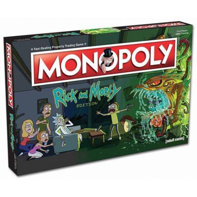 Rick & Morty Monopoly