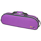 Tom and Will 4/4 Size Violin Oval Gig Case - Purple