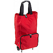 Reisenthel Foldable Trolley Shopping Bag in Red