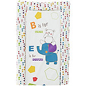 OBaby B is for Bear Changing Mat (Happy Safari)