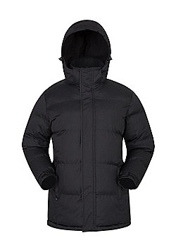 Mountain Warehouse Snow Mens Padded Jacket - Black