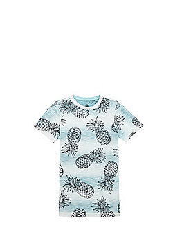 F&F Pineapple Print T-Shirt - Multi