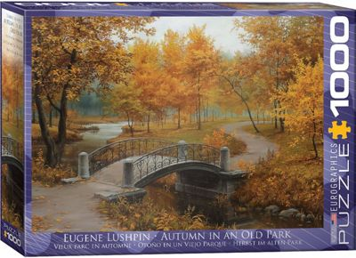 Autumn in an Old Park - 1000pc Puzzle
