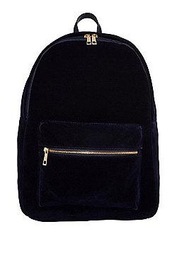 F&F Velvet Backpack