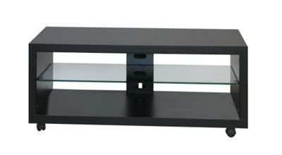 OMB Opera TV Stand - Engraved Black