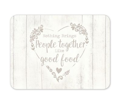 Cooksmart Food for Thought Placemats, Set of 4