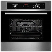 Cookology Unbranded Stainless Steel Built-in Electric Single Fan Oven