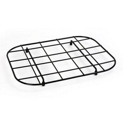 Delfinware Plastic Coated Sink Mat Drainer in Black