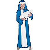 Child Virgin Mary Costume Medium