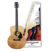 Martin Smith W-100 Acoustic Guitar Pack - Natural