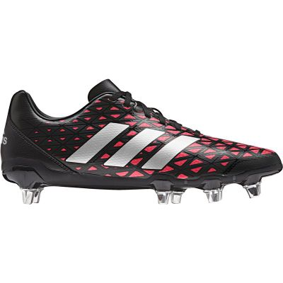 adidas Kakari SG Rugby Boots - Black Size - 8